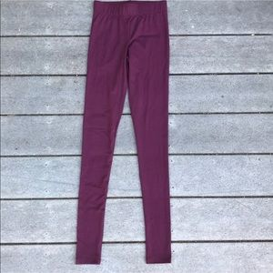 NWOT Rue21- Maroon leggings